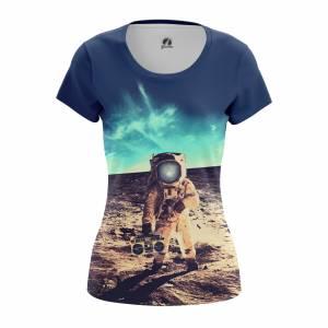 Женская футболка Космос Moon Party Планеты Звёзды - w tee moonparty 1482275383 421