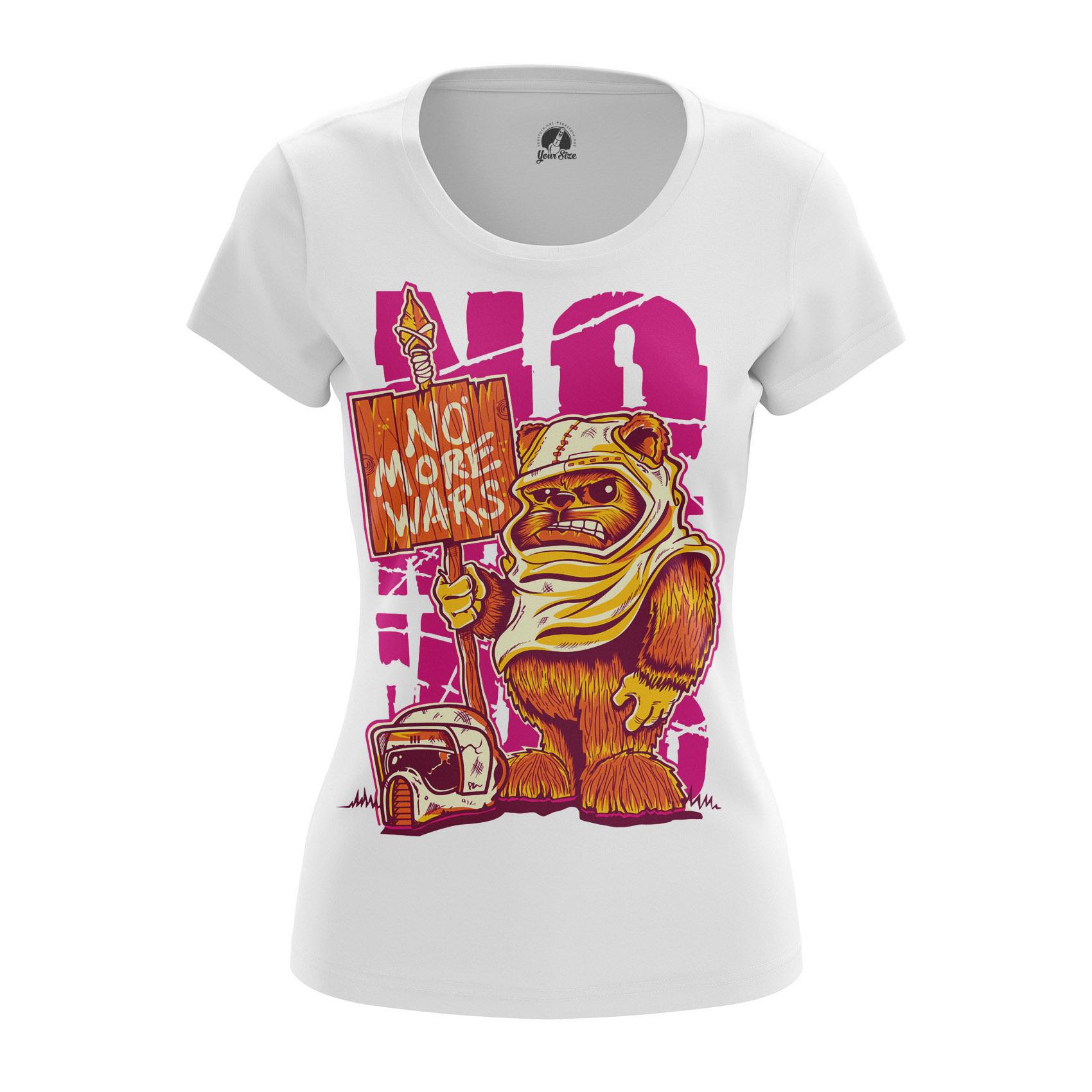 Женская футболка Звездные Войны No wars - Fandbox 43e3c0ef285