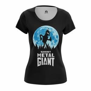 Женская футболка Футурама Shiny Metal Giant - w tee shinymetalgiant 1482275421 539
