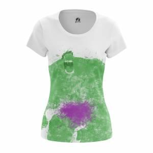 Женская футболка Splash Hulk Халк - w tee splashhulk 1482275434 571
