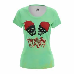 Женская футболка Twenty One Pilots Группа Suicide Squad Pilots - w tee suicidesquadpilots 1482275440 587