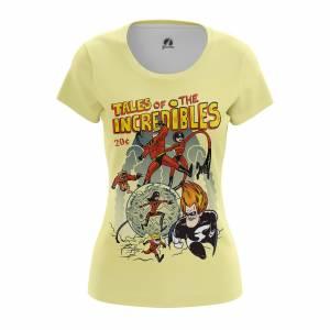 Женская футболка Мульты The Incredibles - w tee theincredibles 1482275447 605