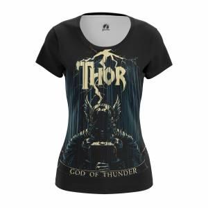 Женская футболка Thor Тор Рагнарёк Мстители - w tee thor 1482275449 614