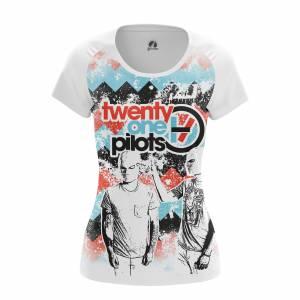 Женская футболка Twenty One Pilots Группа Twenty One Pilots - w tee twentyonepilots3 1482275455 633