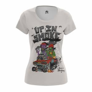 Женская футболка Up in smoke - w tee upinsmoke 1482275459 642