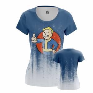 Женская футболка Фоллаут Игра Vault Boy - w tee vaultboy 1482275460 646