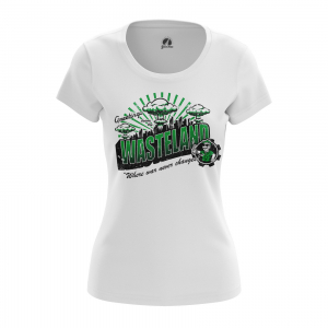 Женская футболка Фоллаут Игра Wastelamd - w tee wastelamd 1482275464 655