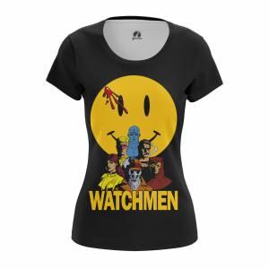 Женская футболка Watchmen Хранители DC Комикс - w tee watchmen 1482275464 656