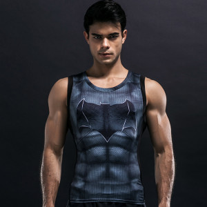 Batman Compression Rashguard Tank T shirt buy