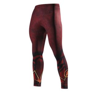 DC Comics Flash Rashguard Leggings Pants Sport Crossfit buy