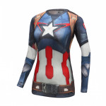 Female-Longsleeve-Rashguard-Superhero-Gym-Crossfit-Workout-3