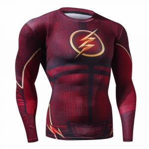 Flash Compression Rashguard Sport Crossfit DC Comics buy