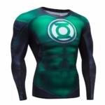 Green Lantern Compressions Rashguard Longsleeve buy