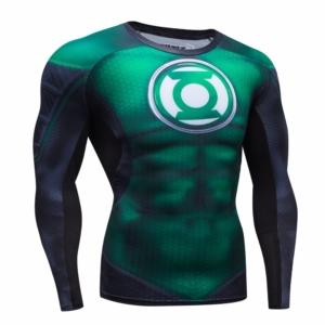 Супергеройский рашгард Зелёный Фонарь - Green Lantern Compressions Rashguard Longsleeve buy