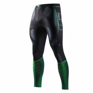Леггинсы Зелёный Фонарь штаны для зала - Leggings Rash guard Compressions Suit 1 buy