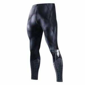 Леггинсы Человек Паук Чёрный штаны для зала - Leggings Rash guard Compressions Suit 5 buy