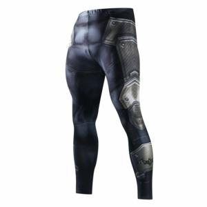 Леггинсы Железный Человек штаны для зала - Leggings Rash guard Compressions Suit 6 buy