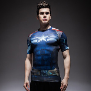 Rashguard Slim Rash Guard T shirt Short Sleeve 9 1