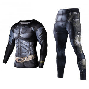 Rashguard Suit Compressions Set Crossfit GYM 1 buy