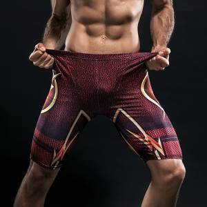 Спортивные шорты Флэш Супергеройские - Shorts Rashguard Leggings Pants Compression Suit 3 buy