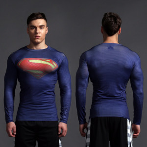 Superhero Rashguard Gym Workout Crossfit DC Marvel Emblem Comics 5 1 1