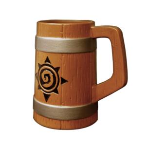 Пивная кружка: Hearthstone Wow Керамика Эль - 1
