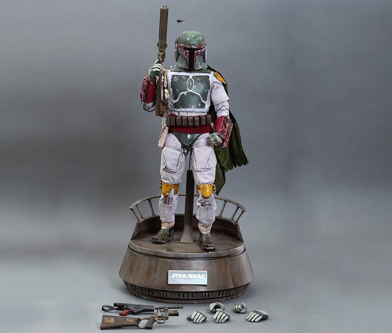 Фигурка: Боба Фетт Звёздные Войны Хоттойз 1:4 - Figurka Bobb Fett Zvyozdnye Vojny 5