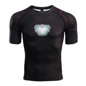 Рашгард с реактором Железный Человек футболка - 3