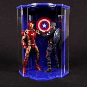 Бокс для фигурок с подсветкой Капитан Америка 1:6 - 9 1 1