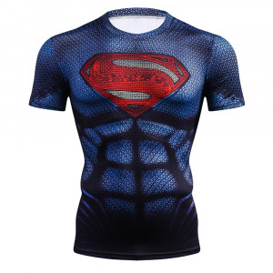 Рашгард футболка Супермэн с лого - 1923619411 1