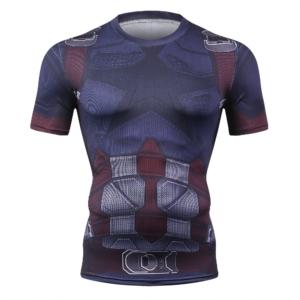 Компрессионная футболка Стив Роджерс 2018 - 2041086530 1