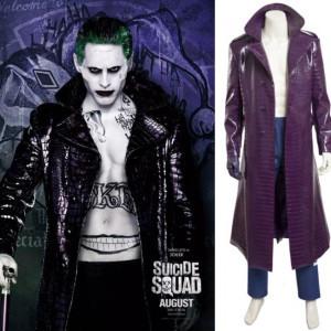 suicide squad joker cosplay costumes