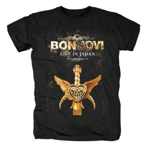 Футболка Bon Jovi Live In Japan - O1CN019QUION2Dj05NJTm0t 357808644