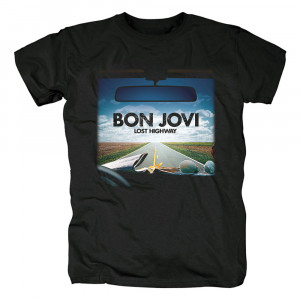 Футболка Bon Jovi Lost Highway - O1CN01NAOoZW2Dj05PiHTaz 357808644