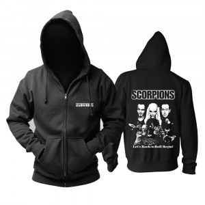 Толстовка Scorpions Let's Rock'N'Roll Begin Худи - TB1020bunmWBKNjSZFBXXXxUFXa 0 item pic