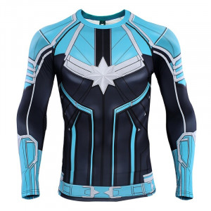 Captain Compression Shirts 3D Printed T shirts Men Raglan Sleeve 2019 Long Sleeve Pattern Tops Male 6