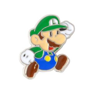 Значок Super Jumping Luigi Mario Брошь - o1cn011zsbgpy0zqe80zs 398776713
