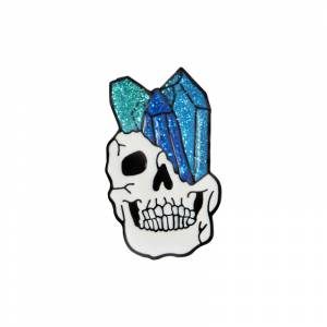 Значок Камень в черепе Брошь - o1cn01ftg2qv1zsbh8lbmmt 398776713
