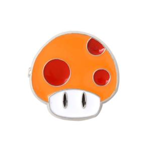 Значок Mushroom Power Up Mario Брошь - o1cn01p3yldo1zsbgo3rlbg 398776713