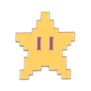 Значок 8-битный Звёздочка Марио Брошь - o1cn01pehp7n1zsbgvzf3bl 398776713
