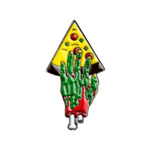 Значок Pizza for Zombie Зелёный Брошь - tb2emgujdni8kjjsszgxxc8apxa 398776713
