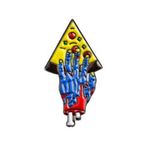 Значок Pizza for Zombie Blue Брошь - tb2rw54jsri8kjjy0fhxxbfnpxa 398776713