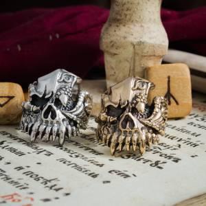 Драконорожденный Кольцо Получеловек дракон - img 8740 scaled