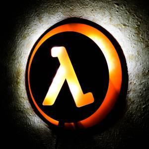 Ночник Half Life Игра Лампа Логотип - main 3