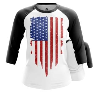 Женский реглан Флаг США Атрибутика - main 0z2eujxy 1564417571