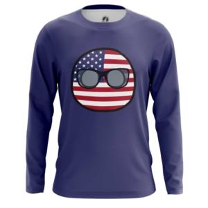 Мужской лонгслив Кантриболз Флаг США - main 1fuqywl6 1564416760