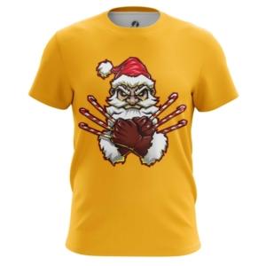 Мужская футболка Росомаха Санта Люди икс - main 1n4hhjke 1544538034