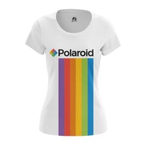 Женская футболка Polaroid Радуга Логотип - main 1uwvi3px 1572373610