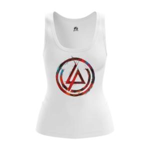 Женская майка Логотип Linkin Park Белая - main 30wdt4ty 1552750316