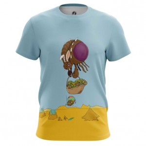 Мужская футболка Зерги Высадка Starcraft - main 4feeupw1 1568204614